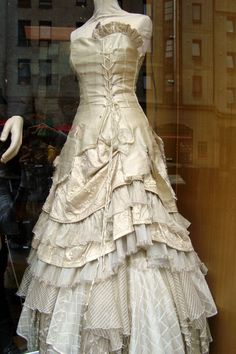 Dress at John Morrison Kilts, Edinburgh, Scotland. US$2400.00