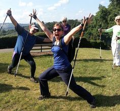 How to use Nordic walking to trim, tone and lose inches | Bristol Nordic Walking