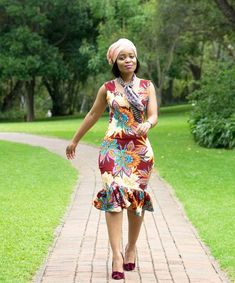 The trendy Ankara styles for the ladies this ember month season Latest African Fashion Dresses, African Print Dresses, African Print Fashion, African Wear, African Women, African Dress, Ankara Dress, African Prints, Trendy Ankara Styles