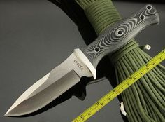 New Y-start Swordfish Fixed Blade Knife Survival Knife Swordfish Style Knife with MICARTA Handle Free shipping hipping on AliExpress.com. $31.50