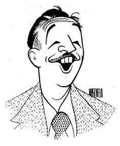 Walt Disney by Al Hirschfeld