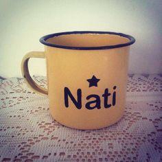 Personalizatede mug with name by Susie creativa Name Mugs, I Love Fashion, Illustration, Graphic Design, Tableware, Artwork, Handmade, China Mugs, Creativity