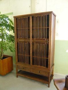 Beijing Design Week 2012 - Chinese wood armoire airy