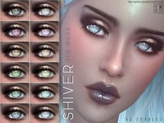New eyebrows for Sims. Found in TSR Category 'Sims 4 Facial Hair' Sims 4 Cc Eyes, Sims 4 Cc Skin, Mermaid Eyes, Mermaid Makeup, Sims 4 Cas, Sims 1, Sims 4 Anime, The Sims 4 Cabelos, Sims 4 Gameplay