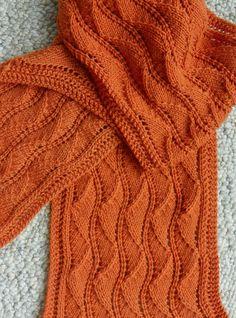 b7503ac2ca14 Free Knitting Pattern for Reversible Ballet Lace Scarf Вязаный Капюшон,  Вязаные Платки, Вязаные Шарфы