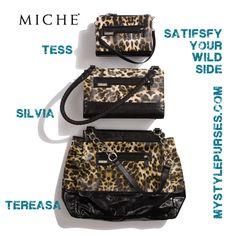 #Leopard Print #Purses Satisfy Your Wild Side - MyStylePurses.blogspot.com