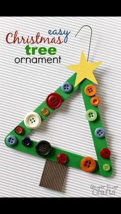 Christmas craft idea with KS1