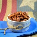Honey Coconut Roasted Almonds - My Real Food Family
