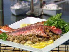 Get this all-star, easy-to-follow Mushroom Stuffed Baked Red Snapper recipe from Paula Deen