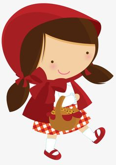 Little Red Riding Hood Template Clipart Best, Free Clipart Catalogue. Use these free Little Red Riding Hood Clip Art for your personal projects or designs. Le Gui, Red Riding Hood Party, Red Ridding Hood, Foto Transfer, Marionette, Cute Clipart, Cute Images, Cute Illustration, Little Red
