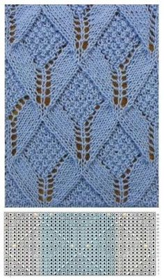 Knitting Patterns Lace Knitting Patterns Discussion on LiveInternet - Ros . Lace Knitting Stitches, Lace Knitting Patterns, Cable Knitting, Knitting Charts, Lace Patterns, Easy Knitting, Stitch Patterns, Filet Crochet, Knitted Baby