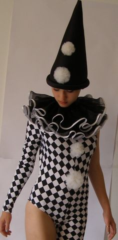 The outfit of one of Commedia's most famous characters: Pantalone/ Harlequin has been a big influence on costumes