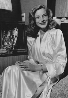 Lauren Bacall during the filming of The Big Sleep, 1946.                                                                                                                                                                                 More