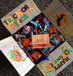 Little Miss Suzy Q- Halloween Missionary Package.  Free Printable Halloween Card.