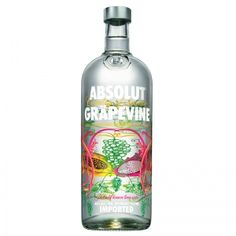 Absolute Grapevine 40% #vodka #absolut