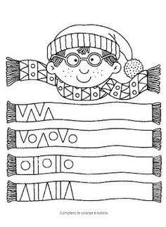 Fun Worksheets for Kids Fun Worksheets For Kids, Preschool Worksheets, Winter Crafts For Kids, Winter Kids, Winter Activities, Preschool Activities, Preschool Math, Kindergarten, Shape Coloring Pages