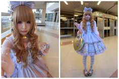 Angelic Pretty Day Dream Carnival, Milk Gold Heart Bag, Queen Bee Gold Tea Party, Alice And The Priates A Logo Choker