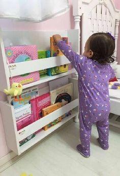 Bookshelf: Learn How to Organize Gorgeous Models Baby Bedroom, Baby Room Decor, Girls Bedroom, Bedroom Decor, Girl Bedroom Designs, Kids Room Design, House Beds, Little Girl Rooms, Bookshelves