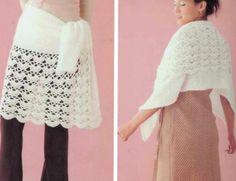 Chal o Falda de crochet, y por que no las 2 - Patrones Crochet