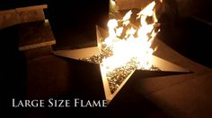 TheFirePitStore.com - Fire Pit Art Northern Star Natural Gas or Propane ...