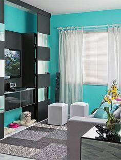 color de las paredes ****turquesa*****