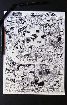 Doodle art by DoodleBros.deviantart.com on @deviantART