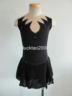 Gorgeous Figure Skating Dress Ice Skating Dress #6668 in Sporting Goods, Winter Sports, Ice Skating | eBay