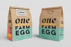 Eastman Egg Packaging on Behance