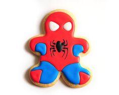 Spiderman / Superhero / Comic Book / por guiltyconfections en Etsy