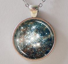 Hubble Image Necklace -30 Doradus: Hodge 301 - Galaxy Series- no kidding there is something in space called Hodge