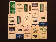 Holiday Inn Hotel Key Cards  