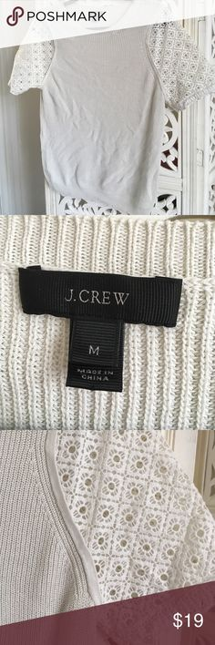 Trendy J Crew s/s, size M Love this j crew top just never wear it. Easy to dress up or down! J. Crew Tops Blouses