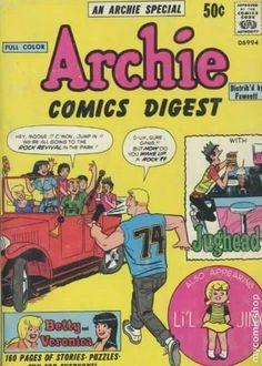 , Archie Comic Publications, Inc. https://www.pinterest.com/citygirlpideas/archie-comics/