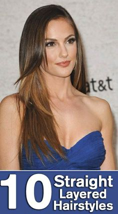 10 Straight Layered Hairstyles #beauty #hairstyles #longhair