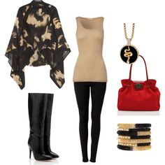Fall Capes, created by stacey-melquist on Polyvore