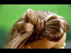 Cute Hairstyle for American girl dolls Part 2