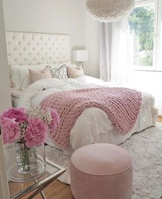 Teen Girl Bedrooms exceptional concept - Basic yet cushy teenage girl room tips. For other wonderful decor info why not jump to the image this instant. Room Inspiration, Dream Rooms, Bedroom Decor, Pink Bedroom Decor, Bedroom Inspirations, Girls Bedroom, Bedroom Design, Home Decor, Room