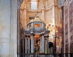 Cathedral of Cadiz, Spain - Temple of the High Altar.