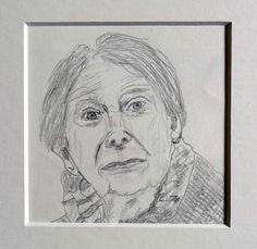 Porträtzeichnung Knut Faldbakken