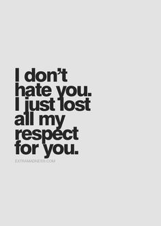 This is what I tell