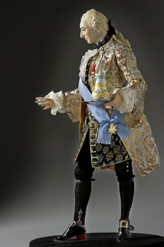 Louis XV 1745 Portrait by artist-historian George Stuart. Visit Our Site For More Information: http://www.galleryhistoricalfigures.com/figuredetail.php?abvrname=Louis_XV_1745