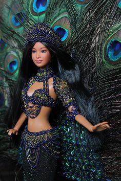 Barbie Clothes Patterns, Doll Clothes Barbie, Barbie Wedding Dress, Barbie Dress, Hair Wrap Scarf, Beautiful Barbie Dolls, Barbie Fashionista, Evening Outfits, Barbie Collector