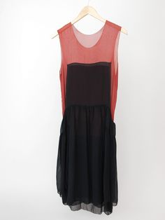 Correll Correll Square Dress - Black/Red « Pour Porter