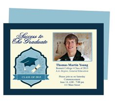 Achiever Graduation Template