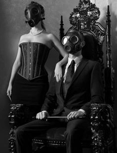 Gas mask von xEvilGrlx666 | We Heart It