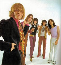 The Original Stones ! L to R ; Brian Jones, Charlie Watts, Keith Richard, Bill Wyman & Mick Jagger.