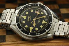 Eberhard Scafograf 300 | Vintage diver watch | Pinterest
