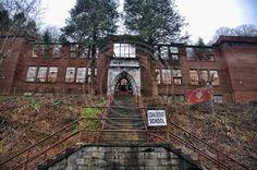 Coalwood School in Coalwood, West Virginia. Homer Hickam's hometown.