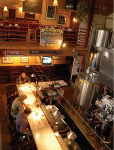 Summit County's oldest brewpub, the Breckenridge Brewery was founded in 1990 by Richard Squire