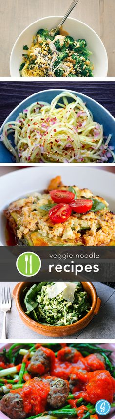 5 Fresh Veggie Noodle Recipes